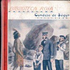 Libros antiguos: CONDESA DE SEGUR : LAS VACACIONES (LIBR. RELIGIOSA, 1925). Lote 124634003