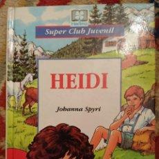 Libros antiguos: HEIDI. Lote 125455879