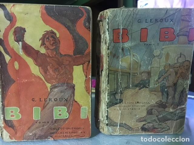 DOS TOMOS 1916--BIBI--- DE G. LEROUX NOVELAS DE MISTERIO AÑO 1916 SATURNINO CALLEJA (Libros Antiguos, Raros y Curiosos - Literatura Infantil y Juvenil - Novela)