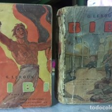 Libros antiguos: DOS TOMOS 1916--BIBI--- DE G. LEROUX NOVELAS DE MISTERIO AÑO 1916 SATURNINO CALLEJA. Lote 126238691
