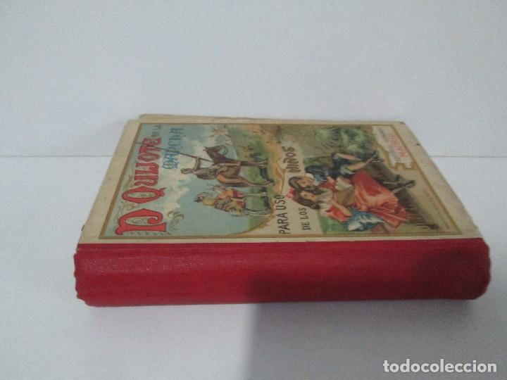 Libros antiguos: DON QUIJOTE DE LA MANCHA. PARA USO DE LOS NIÑOS. MIGEL DE CERVANTES. EDITORIAL HERNANDO. 1928. - Foto 2 - 126316883