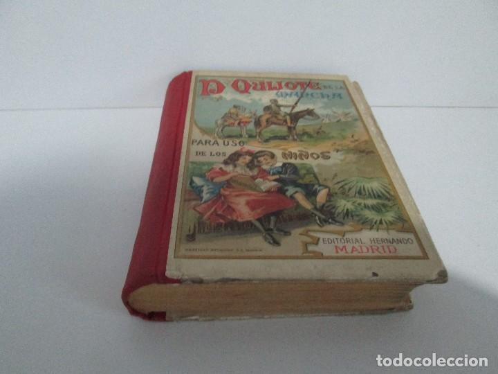 Libros antiguos: DON QUIJOTE DE LA MANCHA. PARA USO DE LOS NIÑOS. MIGEL DE CERVANTES. EDITORIAL HERNANDO. 1928. - Foto 3 - 126316883