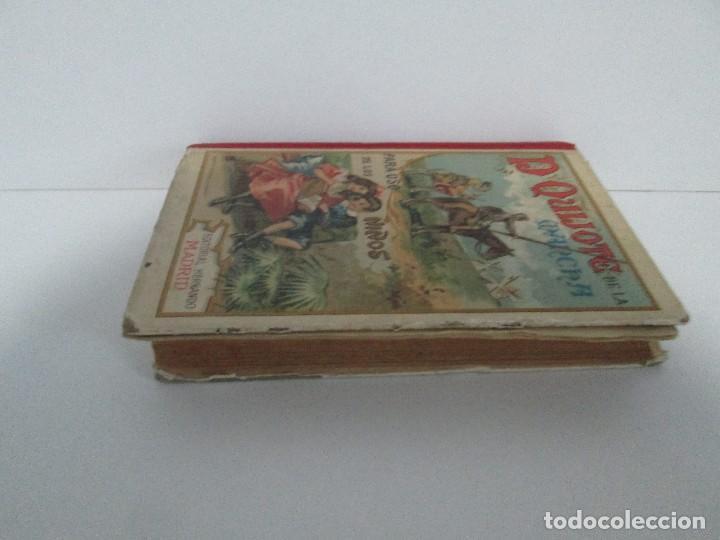Libros antiguos: DON QUIJOTE DE LA MANCHA. PARA USO DE LOS NIÑOS. MIGEL DE CERVANTES. EDITORIAL HERNANDO. 1928. - Foto 4 - 126316883