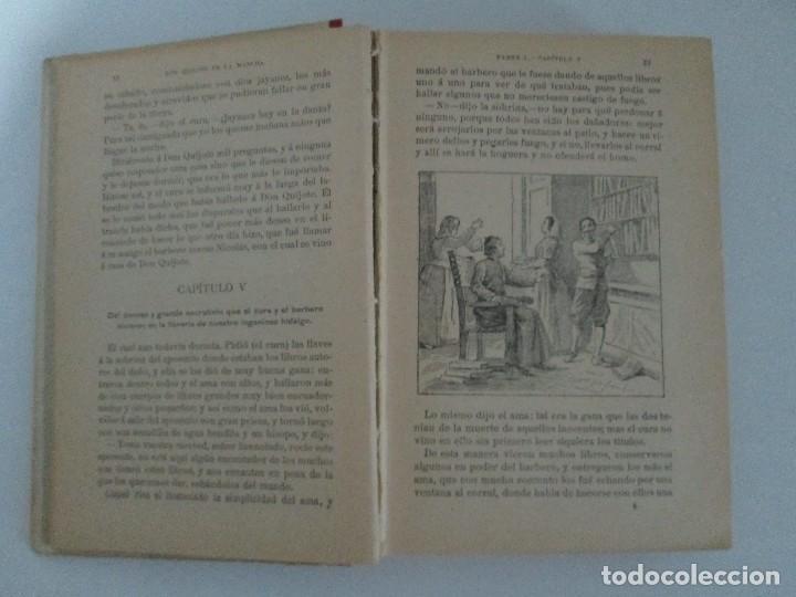 Libros antiguos: DON QUIJOTE DE LA MANCHA. PARA USO DE LOS NIÑOS. MIGEL DE CERVANTES. EDITORIAL HERNANDO. 1928. - Foto 10 - 126316883