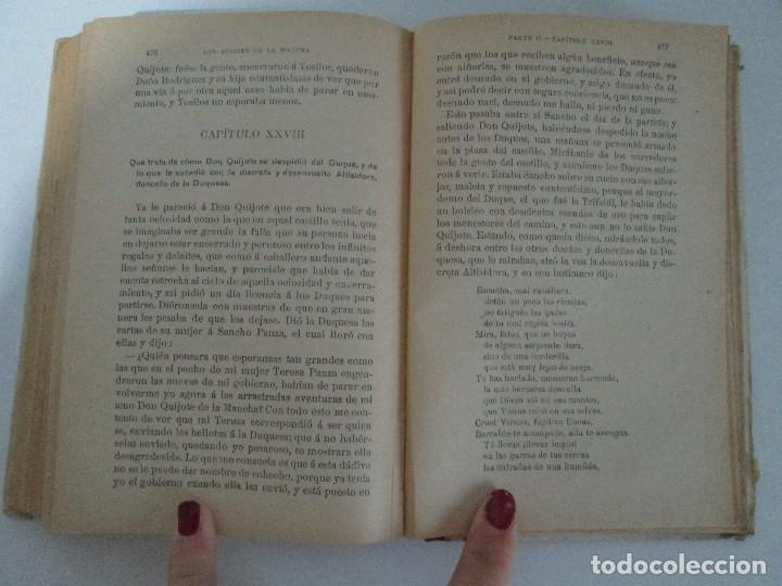 Libros antiguos: DON QUIJOTE DE LA MANCHA. PARA USO DE LOS NIÑOS. MIGEL DE CERVANTES. EDITORIAL HERNANDO. 1928. - Foto 13 - 126316883