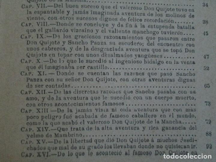 Libros antiguos: DON QUIJOTE DE LA MANCHA. PARA USO DE LOS NIÑOS. MIGEL DE CERVANTES. EDITORIAL HERNANDO. 1928. - Foto 15 - 126316883