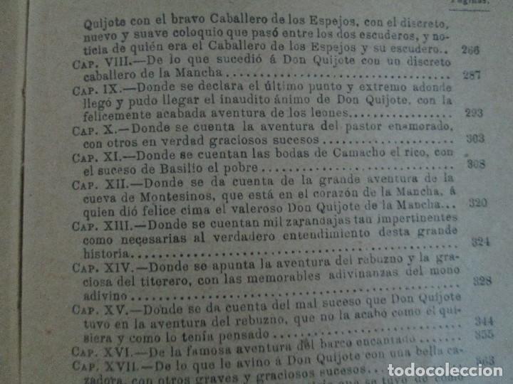 Libros antiguos: DON QUIJOTE DE LA MANCHA. PARA USO DE LOS NIÑOS. MIGEL DE CERVANTES. EDITORIAL HERNANDO. 1928. - Foto 18 - 126316883