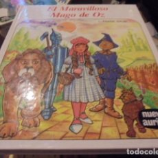 Libros antiguos: EL MARAVILLOSO MAGO DE OZ - FRANK BAUM NUEVO AURIGA 106 - SIN USAR JAMAS - STOCK LIBRERIA. Lote 150794460