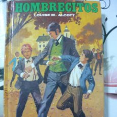 Libros antiguos: HOMBRECITOS. LOUISE MAY ALCOTT. 1986. Lote 127529127