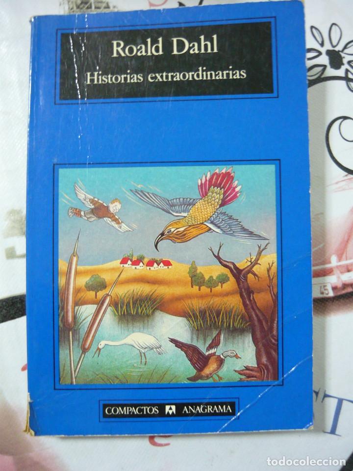 HISTORIAS EXTRAORDINARIAS. ROALD DAHL (COMPACTOS ANAGRAMA 19. TRADUCCIÓN DE JORDI BELTRÁN) (Libros Antiguos, Raros y Curiosos - Literatura Infantil y Juvenil - Novela)