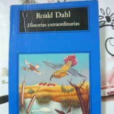 Libros antiguos: HISTORIAS EXTRAORDINARIAS. ROALD DAHL (COMPACTOS ANAGRAMA 19. TRADUCCIÓN DE JORDI BELTRÁN). Lote 132826127