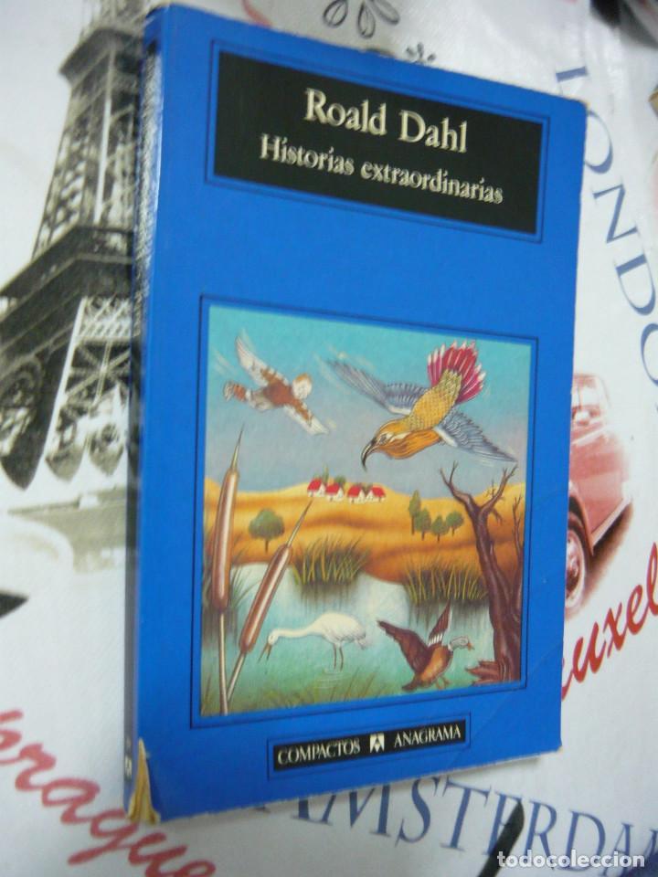 Libros antiguos: HISTORIAS EXTRAORDINARIAS. ROALD DAHL (COMPACTOS ANAGRAMA 19. TRADUCCIÓN DE JORDI BELTRÁN) - Foto 2 - 132826127