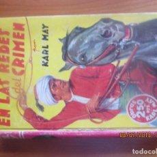 Libros antiguos - EN LAS REDES DEL CRIMEN -KARL MAY - ED. MOLINO, 1937 - 127556699