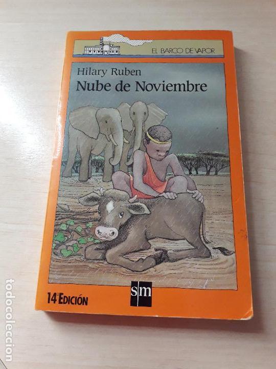 11-00182 - NUBE DE NOVIEMBRE (Libros Antiguos, Raros y Curiosos - Literatura Infantil y Juvenil - Novela)