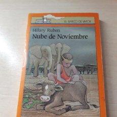 Libros antiguos: 11-00182 - NUBE DE NOVIEMBRE. Lote 127593263