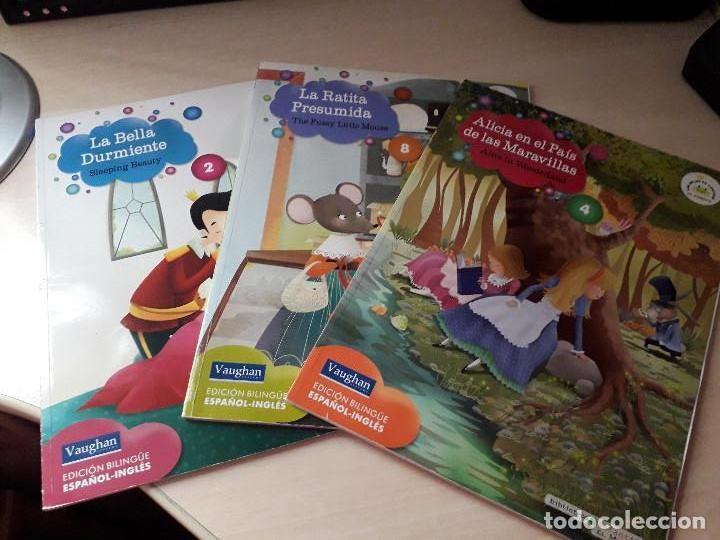 11-00184 - PACK LIBROS ESPAÑOL-INGLES VAUGHAN (Libros Antiguos, Raros y Curiosos - Literatura Infantil y Juvenil - Novela)