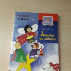 Libros antiguos: 11-00149 - ANGELES DE COLORES. Lote 127591031