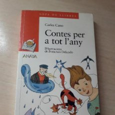 Libros antiguos: 11-00156 - CONTES PERA A TOT EL ANY. Lote 127591371