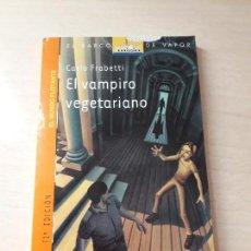 Libros antiguos: 11-00165 - EL VAMPIRO VEGETARIANO. Lote 127592307