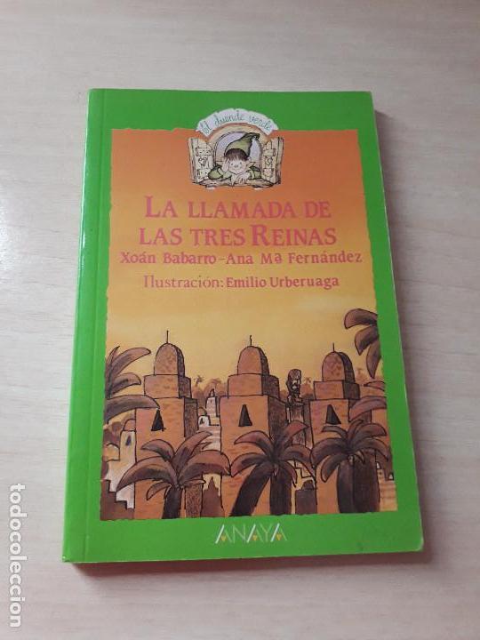 11-00171 - LA LLAMADA DE LAS 3 REINAS (Libros Antiguos, Raros y Curiosos - Literatura Infantil y Juvenil - Novela)