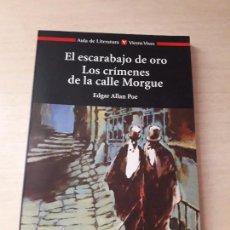 Libros antiguos: 11-00175 - LOS CRIMENES DE LA CALLE MORGUE. Lote 127592859