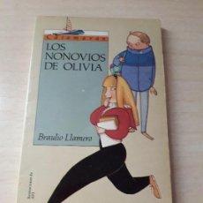 Libros antiguos: 11-00176 - LOS NONOVIOS DE OLIVIA. Lote 127592915