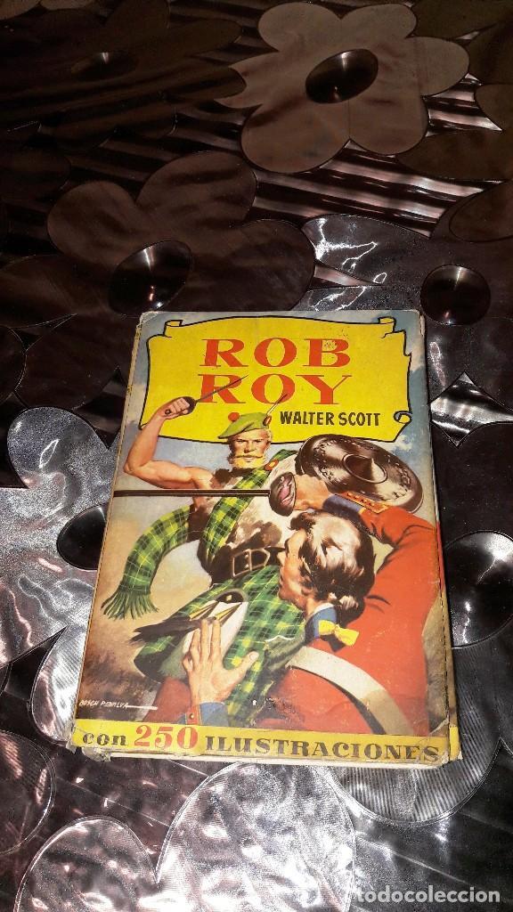 ROB ROY - WALTER SCOTT - COLECCION HISTORIAS - EDITORIAL BRUGUERA (Libros Antiguos, Raros y Curiosos - Literatura Infantil y Juvenil - Novela)