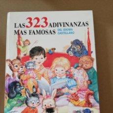 Libros antiguos: LIBRO LAS 323 ADIVINANZAS MÁS FAMOSAS. EDITORIAL SUSAETA 1986.. Lote 131409094