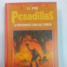 Libros antiguos: PESADILLAS. TAPA DURA. DOS LIBROS EN UNO. MELODIA SINIESTRA Y LA REPUGNANTE CARA DEL TERROR.. Lote 132581010