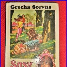 Libros antiguos: SUSY ENCUENTRA UNA PISTA. GRETHA STEVNS.. Lote 132874150