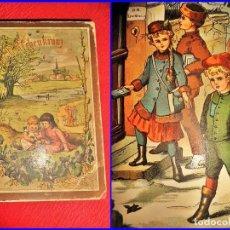 Libros antiguos: PRECIOSA NOVELA INFANTIL CON ILUSTRACIONES A COLOR. SIGLO XIX.. Lote 132892514