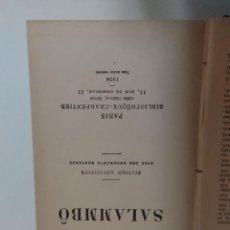 Libros antiguos: SALAMMBO GUSTAVE FLAUBERT 1924 . Lote 133169622