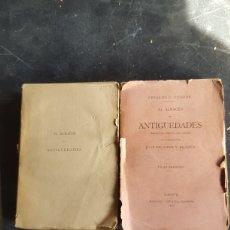 Libros antiguos: EL ALMACEN DE ANTIGÜEDADES. MARTINEZ Y GUIJOSA, EDITORES 1886, 2 TOMOS.. Lote 133400770