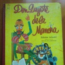 Libros antiguos: LIBRO DON QUIJOTE DE LA MANCHA (1972) MIGUEL DE CERVANTES. EDICIÓN INFANTIL. EDITORIAL RAMÓN SOPENA. Lote 134590214