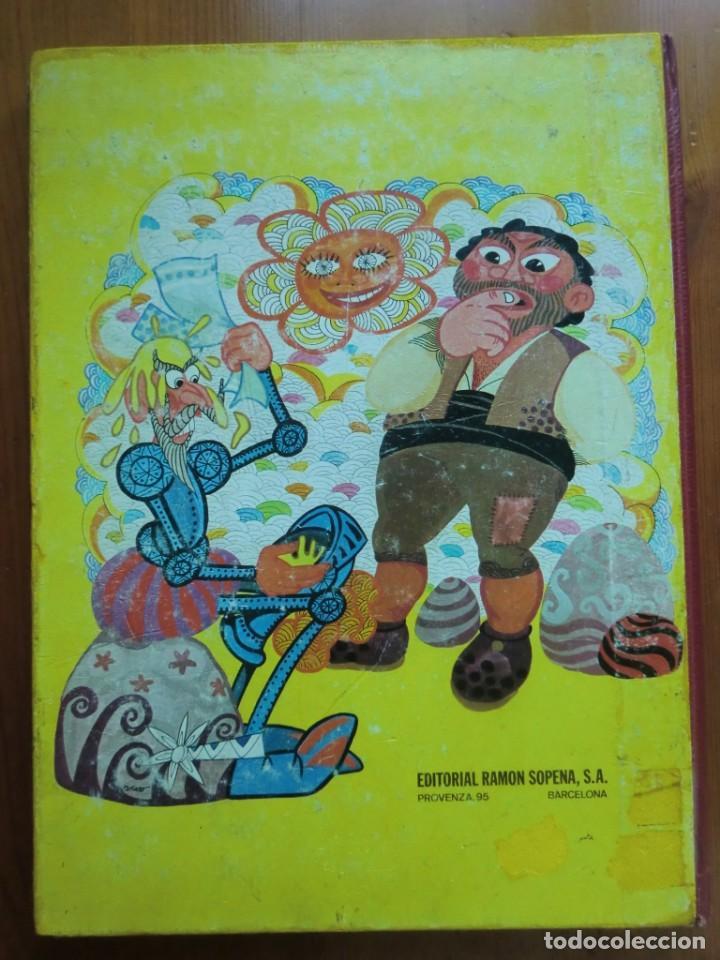 Libros antiguos: Libro DON QUIJOTE DE LA MANCHA (1972) Miguel de Cervantes. Edición Infantil. Editorial Ramón Sopena - Foto 2 - 134590214