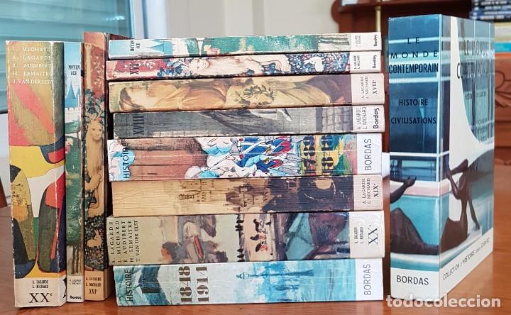 LOTE DE 9 TOMOS Hª LITERATURA FRANCESA . BORDAS 3 REGALO (Libros Antiguos, Raros y Curiosos - Literatura Infantil y Juvenil - Novela)