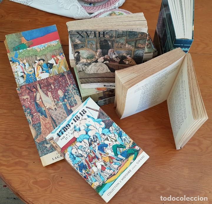 Libros antiguos: LOTE DE 9 TOMOS Hª LITERATURA FRANCESA . BORDAS 3 REGALO - Foto 2 - 134773470