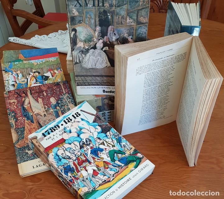 Libros antiguos: LOTE DE 9 TOMOS Hª LITERATURA FRANCESA . BORDAS 3 REGALO - Foto 4 - 134773470