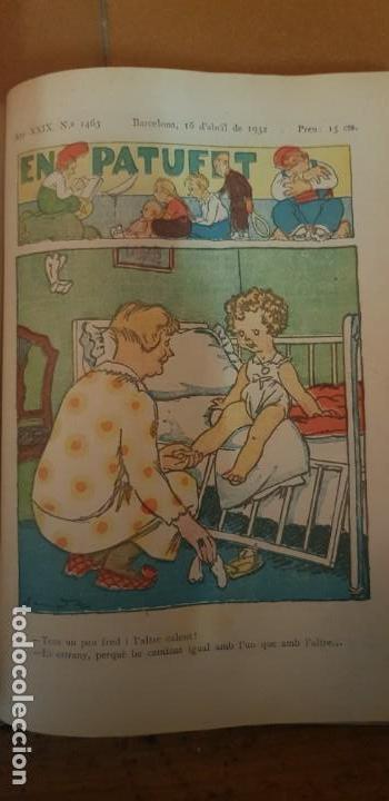 Libros antiguos: PATUFET 44 REVISTAS DEL Nº 1419 JUNY 1931 AL Nº 1463 ABRIL 1932 + EL VAIXELL PIRATA (NOVELA) - Foto 3 - 134927514