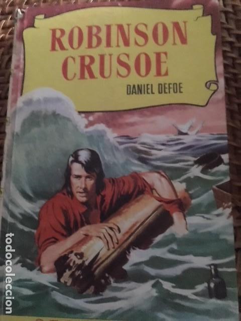 ROBINSON CRUSOE. DANIEL DEFOE. ILUSTRACIONES (Libros Antiguos, Raros y Curiosos - Literatura Infantil y Juvenil - Novela)