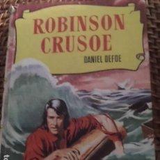 Libros antiguos: ROBINSON CRUSOE. DANIEL DEFOE. ILUSTRACIONES. Lote 135435018