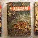 Libros antiguos: EMILIO SALGARI-TOMO 1-2-3(1955)(24€). Lote 136058938