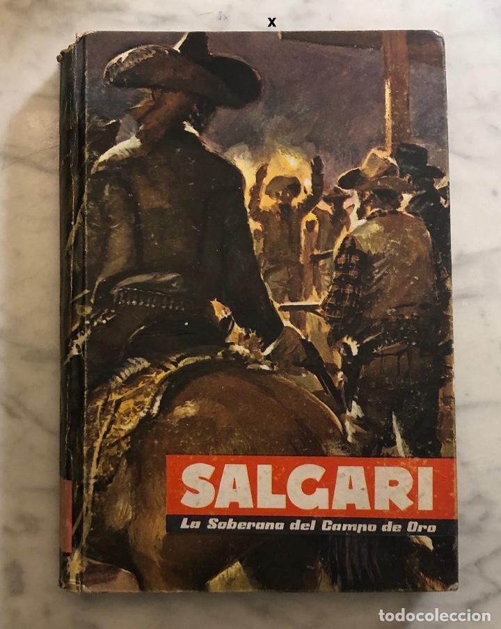 EMILIO SALGARI-TOMO 8 (1955)(8€) (Libros Antiguos, Raros y Curiosos - Literatura Infantil y Juvenil - Novela)