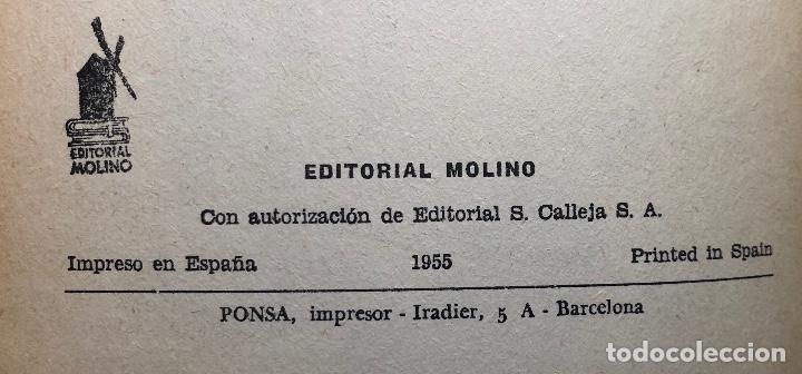 Libros antiguos: EMILIO SALGARI-TOMO 8 (1955)(8€) - Foto 2 - 136059150