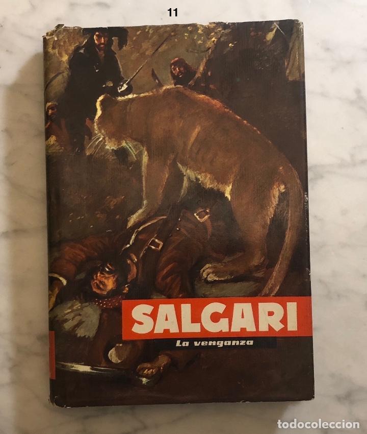 EMILIO SALGARI-TOMO 11 (1955)(8€) (Libros Antiguos, Raros y Curiosos - Literatura Infantil y Juvenil - Novela)