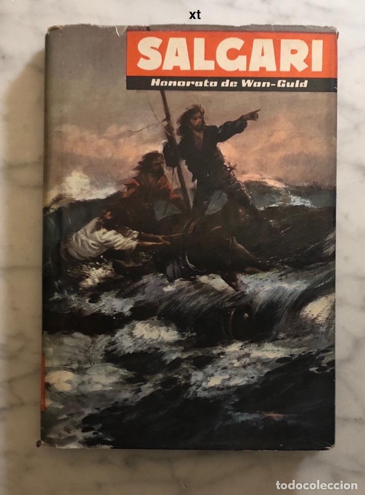 EMILIO SALGARI-TOMO 13 (1955)(8€) (Libros Antiguos, Raros y Curiosos - Literatura Infantil y Juvenil - Novela)