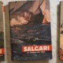 Libros antiguos: EMILIO SALGARI-TOMO 20-21-22(1956)(24€). Lote 136059934