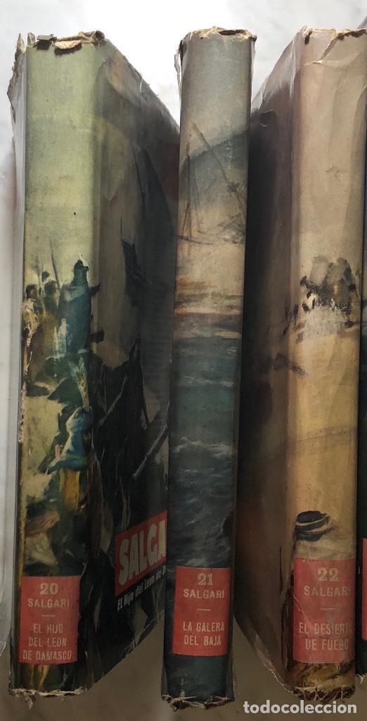 Libros antiguos: EMILIO SALGARI-TOMO 20-21-22(1956)(24€) - Foto 3 - 136059934