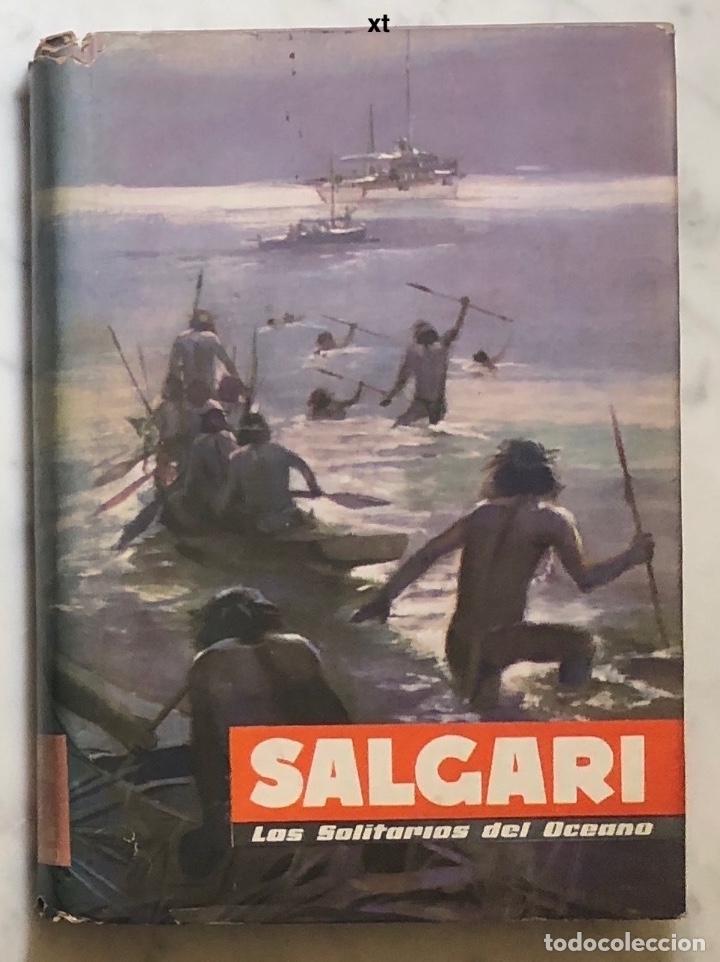 EMILIO SALGARI-TOMO 24 (1955)(8€) (Libros Antiguos, Raros y Curiosos - Literatura Infantil y Juvenil - Novela)