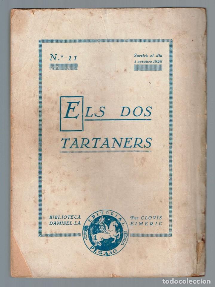 Libros antiguos: Mas de les Eures, El Biblioteca Damisel-la Nº 10 Eimeric, Clovis 1926 - Foto 2 - 136637830